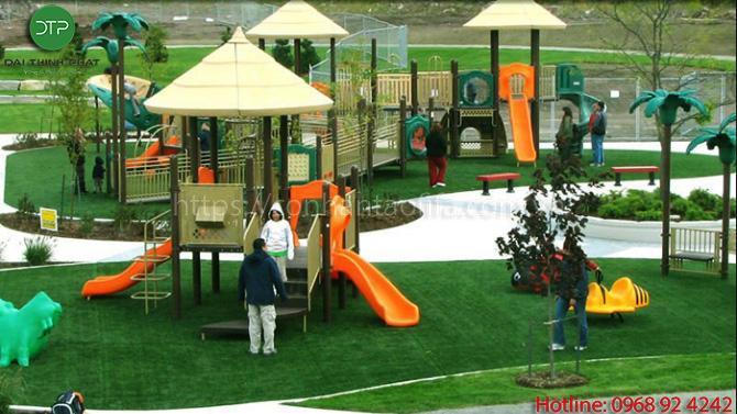 5 bước thi công sân vườn cỏ nhân tạo đúng chuẩn
