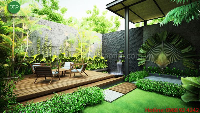 Cách thi công cỏ nhân tạo sân vườn để có một không gian hoàn hảo